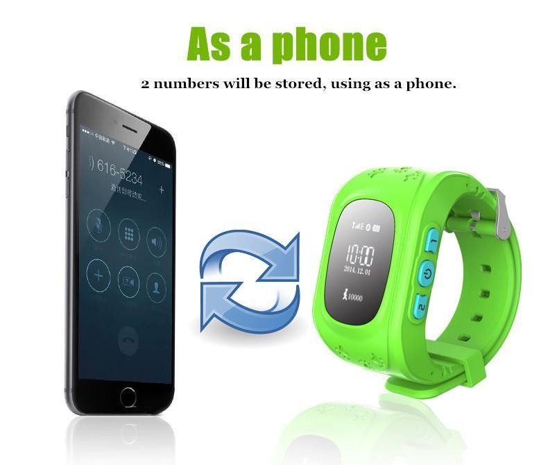 детские умные часы с трекером и телефоном