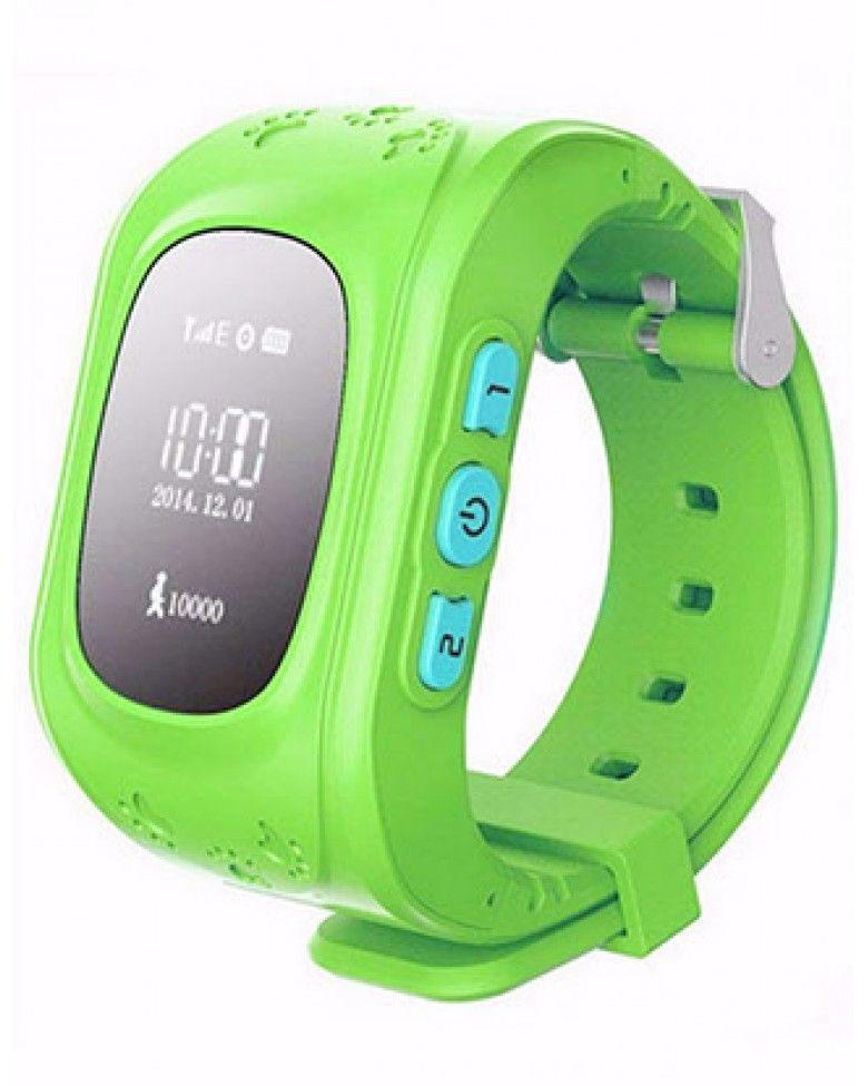Часы с GPS Smart Baby Watch Q50 зелёные