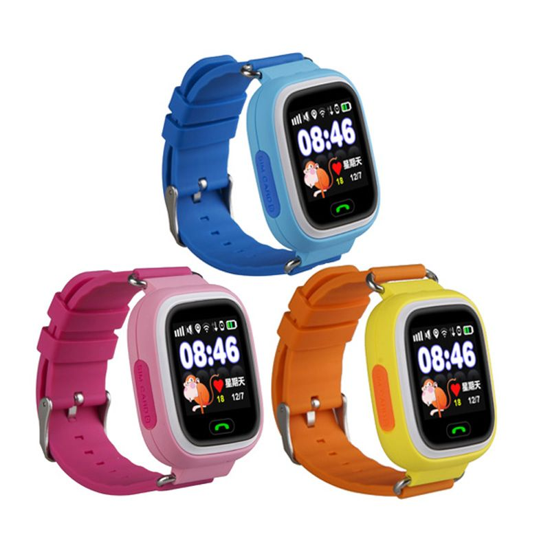 Часы с GPS Smart Baby Watch Q80 с WIFI сенсорные