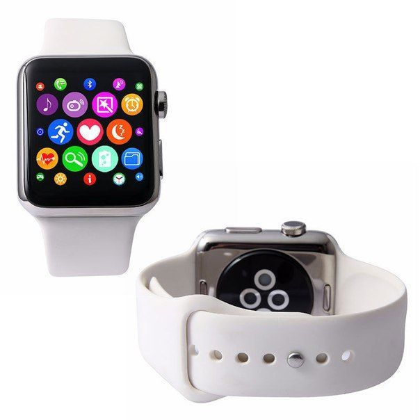 Умные часы Smart watch IWO 2 white