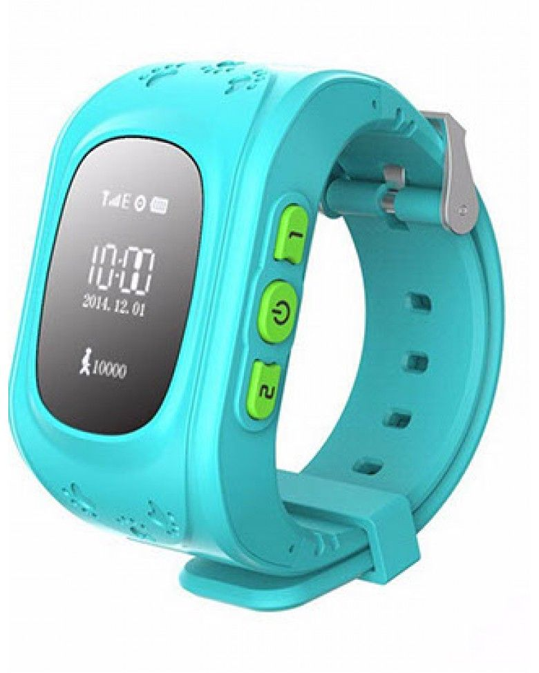 Часы с GPS Smart Baby Watch Q50 голубые