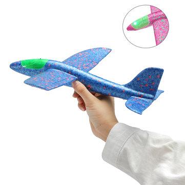 Метальний літак-планер світиться